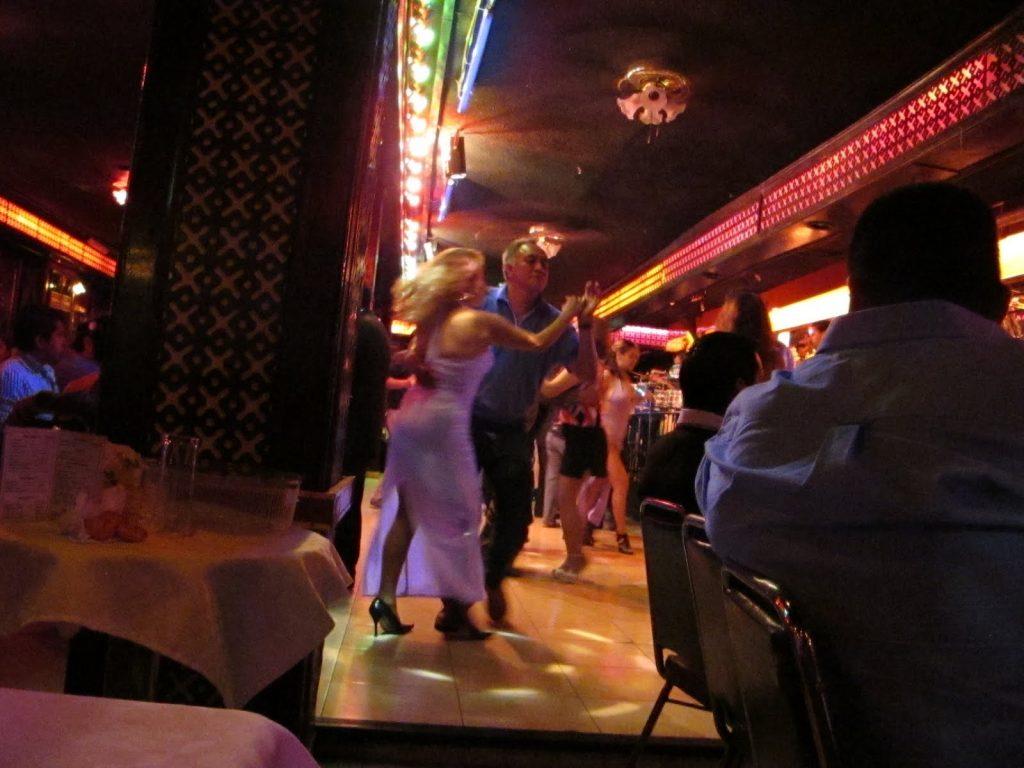 Mexico city strip club