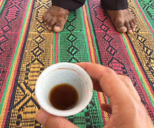Travel article: How to Drink Coffee Like a Bedouin, Fathom, featured image
