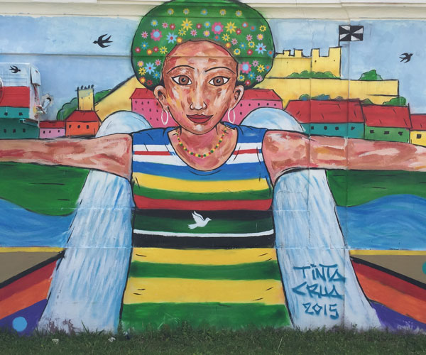 Anja Mutic travel article: Lowdown on Lisbon's storied street art